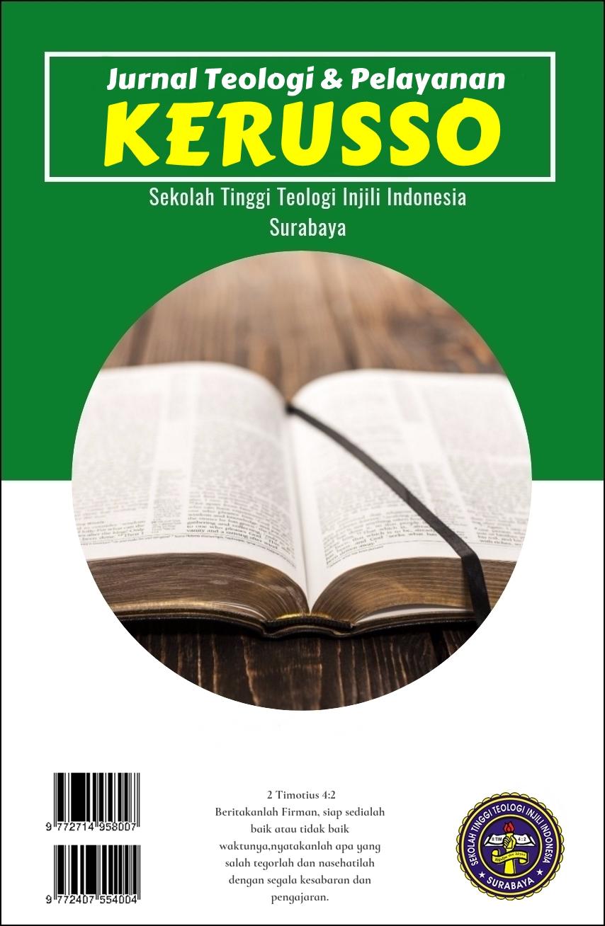 Jurnal Teologi & Pelayanan KERUSSO